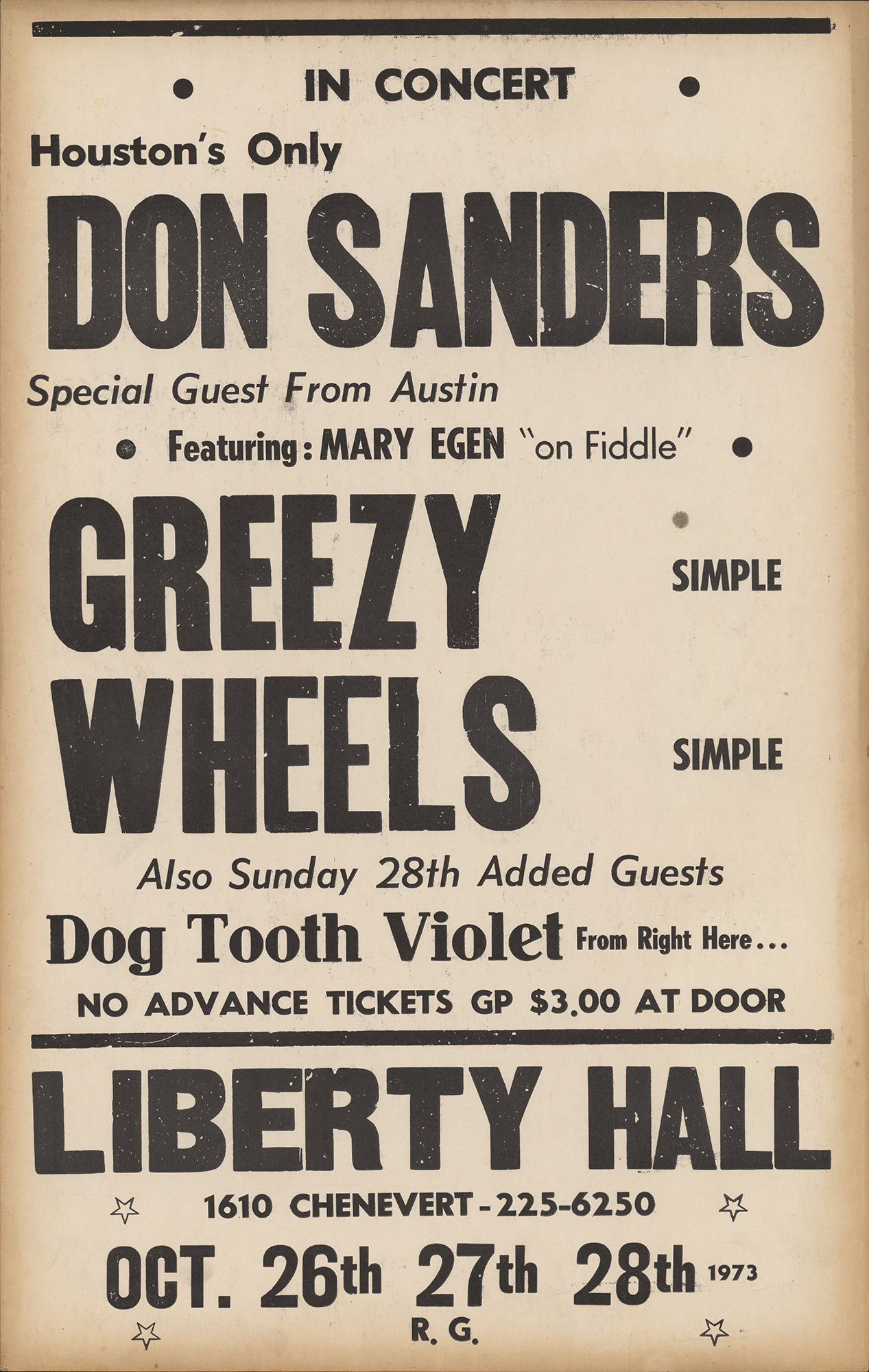 Images · Don Sanders · Houston Folk Music Archive
