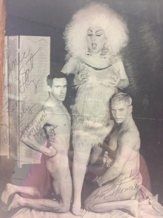 Signed photograph of Divine