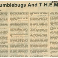 Roaring Sixties and Tumblebugs