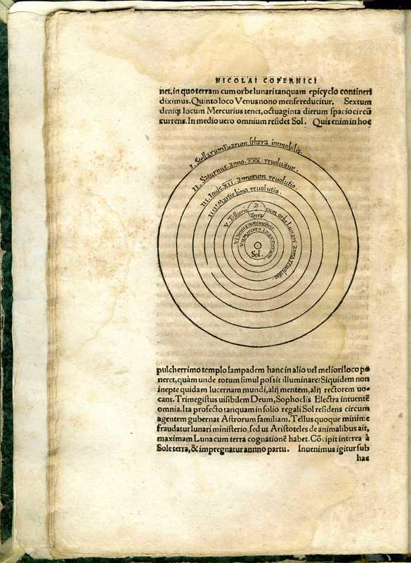 De reuolutionibus orbium coelestium, solar system