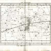 Atlas Celeste de Flamsteed, Cancer star chart