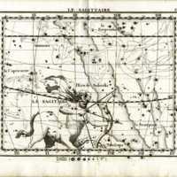 Atlas Celeste de Flamsteed, Sagittaire star chart