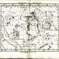 Atlas Celeste de Flamsteed, Hercule star chart