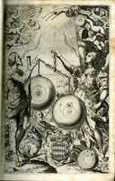 Almagestum novum, frontispiece